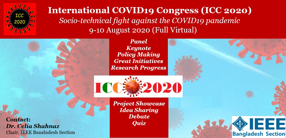 International Covid19 Congress (ICC2020)-updated