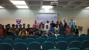 Interactive  sessions with  IEEE Bangladesh  Section Chief  Executives