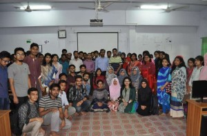 """Training session  on         """"Humanitarian  Technology  Project Design  for Sustainable  Development in  Local  Community"""" on  CUET"""