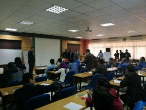 """Training  Session on  """"Empowering  the Future  Through IoT""""  with   Grameenphone"""
